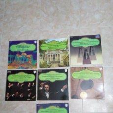 Discos de vinilo: LOTE DE 7 VINILOS LP MUSICA CLÁSICA. Lote 199741602