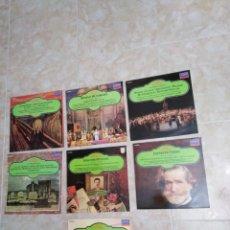 Discos de vinilo: LOTE DE 7 VINILOS LP MUSICA CLASICA. Lote 199742615