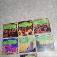 Discos de vinilo: LOTE DE 7 VINILOS LP MUSICA CLÁSICA. Lote 199744000