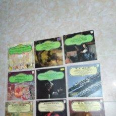 Discos de vinilo: LOTE DE 9 VINILOS LP MUSICA CLÁSICA. Lote 199745923