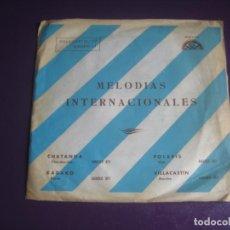 Discos de vinilo: CONJUNTO MEDITERRÁNEO EP BERTA 1968 - MELODIAS INTERNACIONALES 3 LATIN ORQUESTA - CANCION LIGERA. Lote 199752158