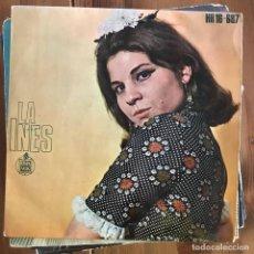 Discos de vinil: LA INÉS - TÚ TE RÍES - 7'' EP HISPAVOX 1969. Lote 199754048