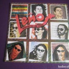 Discos de vinilo: LEÑO SG CHAPA 1981 - MANERAS DE VIVIR / TODO ES MAS SENCILLO - HARD ROCK CLASICO SIN ESTRENAR. Lote 199754775