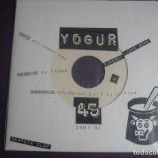Discos de vinilo: YOGUR EP DISCOS DANI - FUNERAL JANE BONE + 2 LO FI 90'S - PATRULLERO MANCUSO - SOLEX - ETC - SIN USO. Lote 199756871