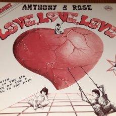 Discos de vinilo: DISCO VINILO MAXI ANTHONY & ROSE. Lote 199756975