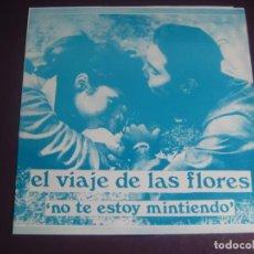 Discos de vinilo: ST. CHRISTOPHER / EL VIAJE DE LAS FLORES FLEXI STAMP 1990 - IF I COULD CAPTURE/NO TE ESTOY MINTIENDO. Lote 199757671