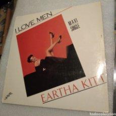 Discos de vinilo: EARTHA KITTY - I LOVE MEN. Lote 199758037