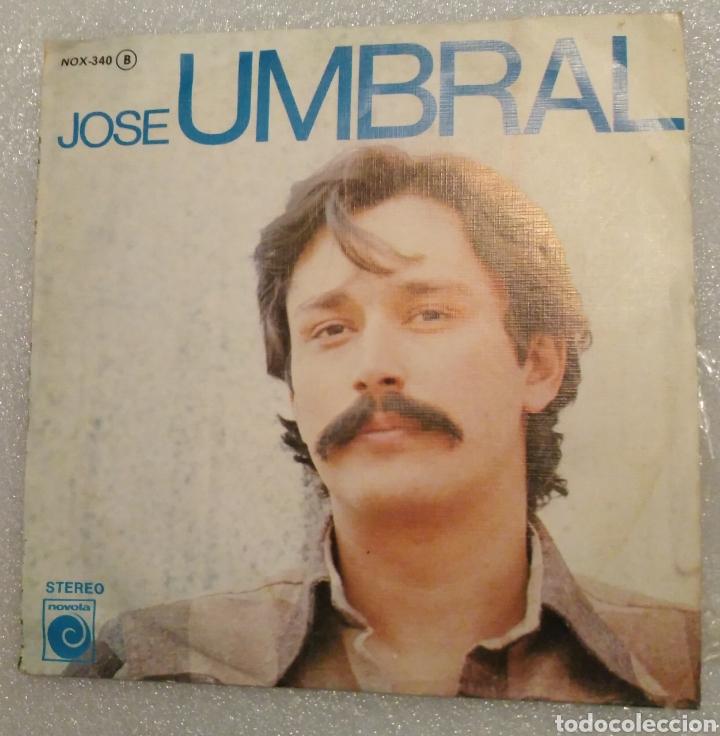 JOSÉ UMBRAL - ESAS PENAS (Música - Discos - Singles Vinilo - Solistas Españoles de los 70 a la actualidad)