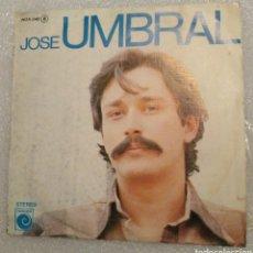 Discos de vinilo: JOSÉ UMBRAL - ESAS PENAS. Lote 199758676