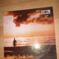 Discos de vinilo: Q.S.L. / QSL / Q S L ACUSE DE RECIBO - ALGO MAS QUE UN SUEÑO - DIAPASON 1988. Lote 199759612