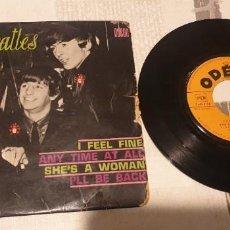 Discos de vinilo: LES BEATLES ODEON SOE 3760. Lote 199761205