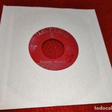 Discos de vinilo: SILVANA SYLVANA VELASCO AHORA TE PUEDES MARCHAR/BUSCA UNA EXCUSA +2 EP 1964 ZAFIRO SOLO DISCO. Lote 199762308