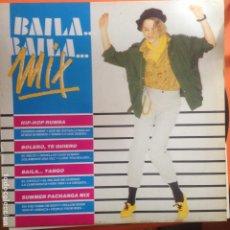 Discos de vinilo: BAILA BAILA MIX - LP. Lote 199764220