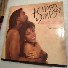 Discos de vinilo: ASHFORD & SIMPSON - COUNT YOUR BLESSINGS. Lote 199770072