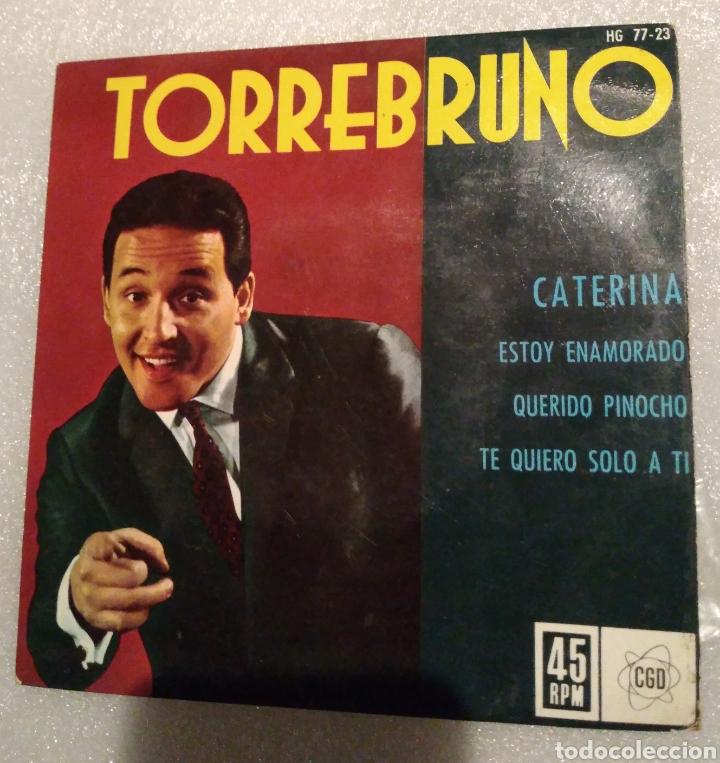 TORREBRUNO - CATERINA + 3 (Música - Discos de Vinilo - EPs - Solistas Españoles de los 50 y 60)