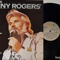 Discos de vinilo: LO MEJOR DE KENNY ROGERS - LIBERTY 1980. Lote 199779790