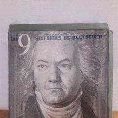 Discos de vinilo: LAS 9 SINFONIAS DE BEETHOVEN A ESTRENAR. Lote 199779937