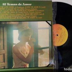 Discos de vinilo: TEMAS DE AMOR - CBS 1977 - PROMOCION CAJA DE AHORROS DE TERRASSA . Lote 199780938