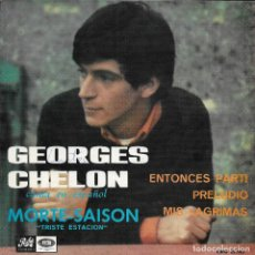 Discos de vinilo: GEORGES CHELON MORTE-SAISON PATHE 1967. Lote 199790281
