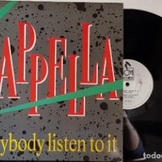 Discos de vinilo: CAPPELLA EVERY BODY LISTEN TO IT - BCM RECORDS - MADE WESTER GERMANY MAXI. Lote 199796045