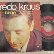 Discos de vinilo: ALFREDO KRAUS JURAME EP VINYL MADE IN SPAIN 1968. Lote 199805107