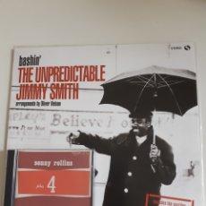 Discos de vinilo: JIMMY SMITH, SONNY ROLLINS, LP + CD, LOTE. Lote 199812380