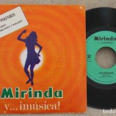 Discos de vinilo: LOS PEKENIKES HECHIZO EMBUSTERO Y BAILARIN COLECCION MIRINDA N.2 SINGLE VINYL MADE IN SPAIN 1969. Lote 199817706