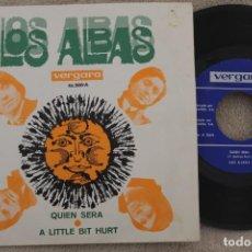 Discos de vinilo: LOS ALBAS QUIEN SERA SINGLE VINYL MADE IN SPAIN 1969. Lote 199818537