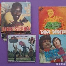 Discos de vinilo: LOTE 13 DISCOS SINGLES VARIADOS AÑOS 60 Y 80. Lote 199821307
