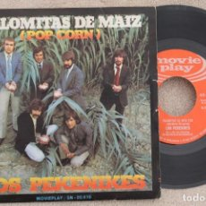 Discos de vinilo: LOS PEKENIKES PALOMITAS DE MAIZ SINGLE VINYL MADE IN SPAIN 1972. Lote 199822106