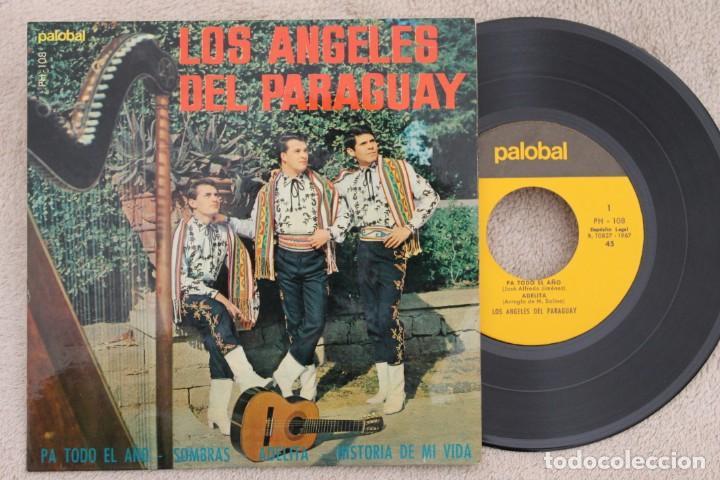 LOS ÁNGELES DEL PARAGUAY PA TODO EL AÑO EP VINYL MADE IN SPAIN 1967 (Música - Discos de Vinilo - EPs - Grupos y Solistas de latinoamérica)