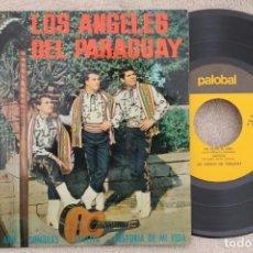 Discos de vinilo: LOS ÁNGELES DEL PARAGUAY PA TODO EL AÑO EP VINYL MADE IN SPAIN 1967. Lote 199823072