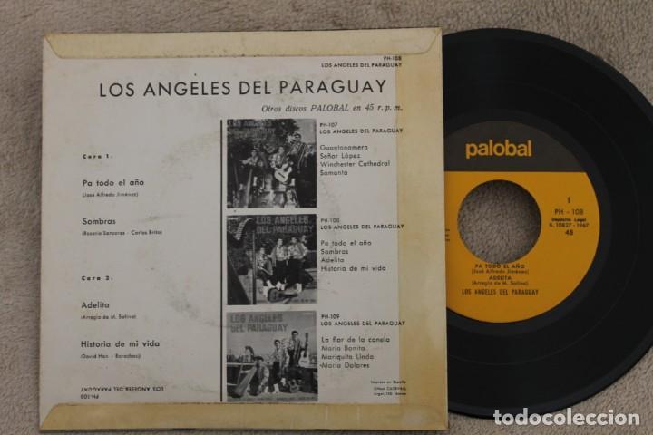 Discos de vinilo: LOS ÁNGELES DEL PARAGUAY PA TODO EL AÑO EP VINYL MADE IN SPAIN 1967 - Foto 2 - 199823072