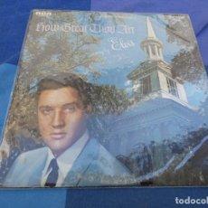 Discos de vinilo: ELVIS PRESLEY DOBLE LP CHRISTMAS ALBUM USA MONO AÑOS 70 PORTADA DECENTE VINILO CORRECTO. Lote 199823278