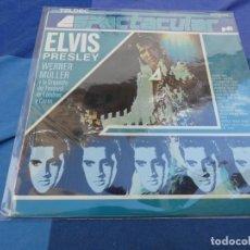 Discos de vinilo: LP EXPLOTACION ELVIS PRESLEY POR WERNER MULLER Y LA ORQ DEL FESTIVAL DE LONDRES GRAN ESTADO. Lote 199823475