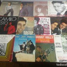 Discos de vinilo: 11 CARTULAS DE SINGLES EN BUEN ESTADO SIN DISCOS,. Lote 199823498