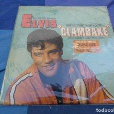 Discos de vinil: LP ELVIS PRESLEY BSO DE LA EPLI CLAMBLAKE USA CIRCA 1967 BASTANTE USO PERO TOLERABLE FUNDA Y DISCO. Lote 199824555
