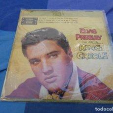 Discos de vinilo: LP ELVIS PRESLEY 1976 KING CREOLE ESTADO ACEPTABLE EDICION ESPAÑOLA. Lote 199824941