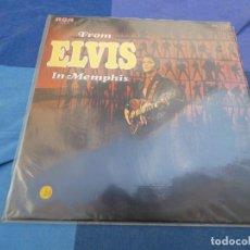 Discos de vinil: LP ESPAÑOL ELVIS PRESLEY DEL AÑO 1974 EN ESTADO CORRECTO FROM ELVIS IN MEMPHIS. Lote 199830650