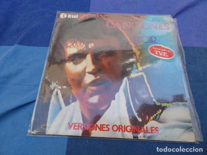 LP ESPAÑOL ELVIS PRESLEY CANCIONES DE AMOR K TEL ESPAÑA 1977 PORTADA CORRECTA DISCO MUY BIEN (Música - Discos de Vinilo - EPs - Pop - Rock Extranjero de los 70)