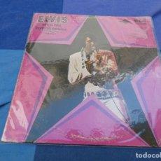 Discos de vinilo: ELVIS PRESLEY SINGS HITS FROM THE MOVIES USA 70S PORTADA USADA DISCO BASTANTE BIEN USA 70S. Lote 199831601