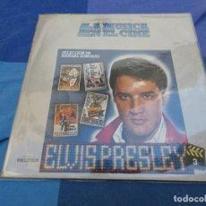 Discos de vinilo: LP ESPAÑOL ELVIS PRESLEY HISTORIA DE LA MUSICA EN EL CINE SELECCION DE BANDAS SONORAS BUEN ESTADO. Lote 199831703