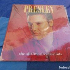 Discos de vinil: PRECIOSO DOBLE LP ELVIS PRESLEY THE ALL TIME GREATEST HITS ESPAÑA 1988 BUEN ESTADO. Lote 199832166