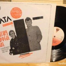 Discos de vinilo: DATA / LIVING INSIDE ME / 1984 VICTORIA B20400 MAXI SINGLE ELECTRONIC ELECTRO SYNTH-POP . Lote 199840440