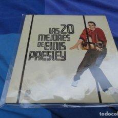 Discos de vinil: LP ESPAÑOL 1977 LAS 20 MEJORES DE ELVIS PRESLEY IMPACTO RECORDS BUEN ESTADO GENERAL. Lote 199841801