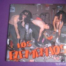 Discos de vinilo: LOS ELEMENTOS EP SUBTERFUGE 1992 - 4 TEMAS MALASAÑA ROCK N ROLL - LOS ENEMIGOS - SEX MUSEUM. Lote 199848211