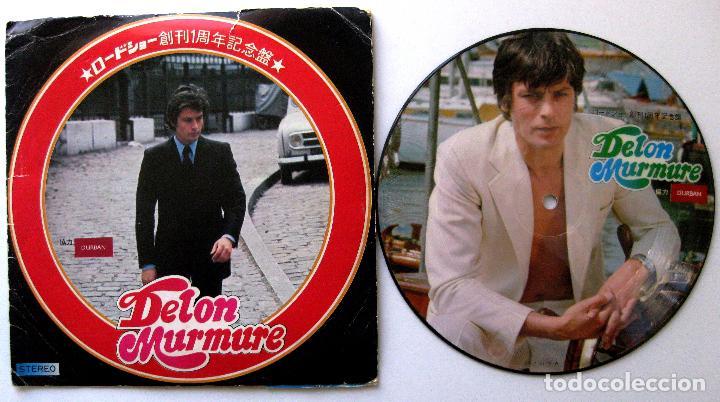 ALAIN DELON - DELON MURMURE - EP ROADSHOW 1974 PICTURE DISC JAPAN BPY (Música - Discos de Vinilo - EPs - Bandas Sonoras y Actores)
