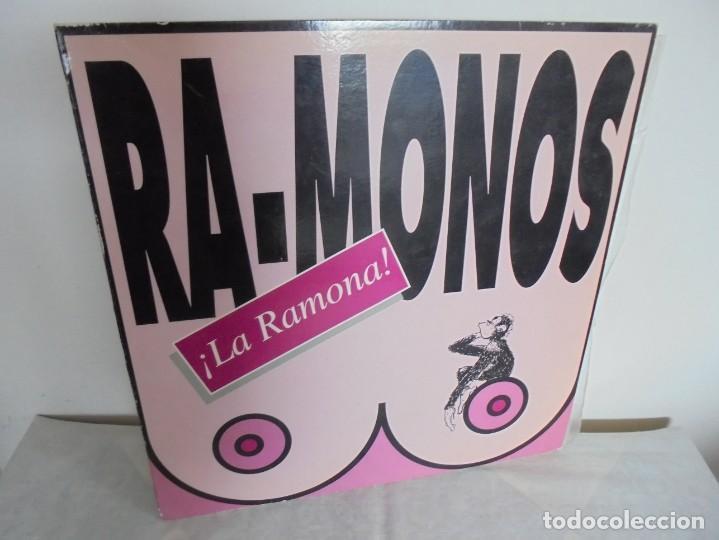 RA-MONOS. ¡LA RAMONA!. MAXISSINGLES VINILLO. URBAN SOUND BARCELONA. METROPOL RECORDS. 1993 (Música - Discos de Vinilo - Maxi Singles - Grupos Españoles de los 90 a la actualidad)