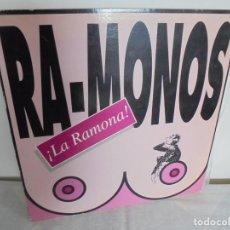 Discos de vinilo: RA-MONOS. ¡LA RAMONA!. MAXISSINGLES VINILLO. URBAN SOUND BARCELONA. METROPOL RECORDS. 1993. Lote 199853366