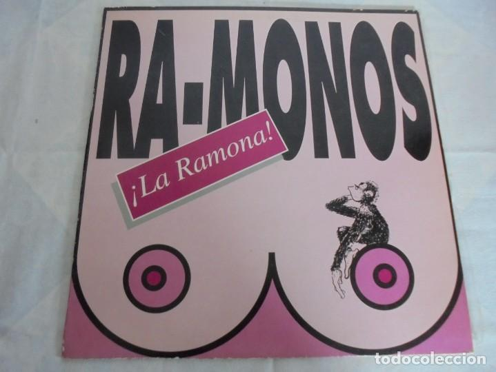 Discos de vinilo: RA-MONOS. ¡LA RAMONA!. MAXISSINGLES VINILLO. URBAN SOUND BARCELONA. METROPOL RECORDS. 1993 - Foto 2 - 199853366